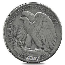 $100 Face Value Bag-200 Coins-90% Silver Walking Liberty Half Dollars Circulated