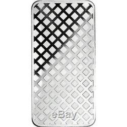 10 oz. Highland Mint Silver Bar Walking Liberty Design. 999+ Fine