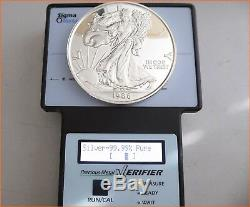 12 oz. 999 Silver 1986 WALKING LIBERTY MEDAL NUMBERED 2872 Art Round/Bar 3046