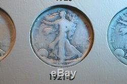 1916-1947 Walking Liberty Half 65 Coin Very Nice Full Date Complete Set! #33