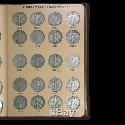 1916-1947 Walking Liberty Half Dollar Set (In Dansco Album) SKU #24270