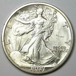 1916-D Walking Liberty Half Dollar 50C Coin Choice BU Uncirculated (UNC MS)