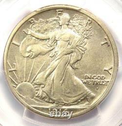 1916-D Walking Liberty Half Dollar 50C PCGS Uncirculated Details (UNC MS BU)