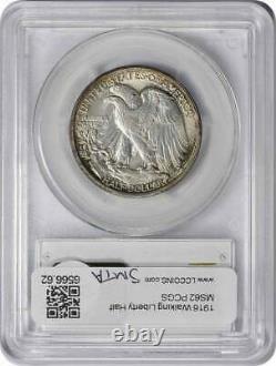 1916-P Walking Liberty Half Dollar MS62 PCGS