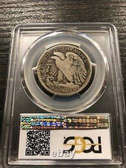 1916-S 50C Walking Liberty Silver Half Dollar PCGS G04