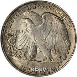 1916-S US Walking Liberty Silver Half Dollar 50C PCGS MS63