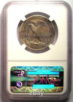 1916-S Walking Liberty Half Dollar 50C Certified NGC VF20 Rare Date Coin