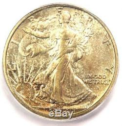 1916-S Walking Liberty Half Dollar 50C Coin ICG MS61 (BU UNC) $1,880 Value
