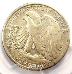1916-S Walking Liberty Half Dollar 50C PCGS AU Details Rare Date Coin