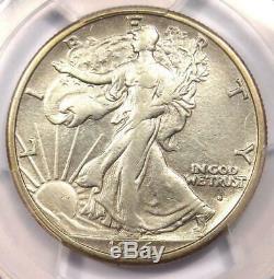 1916-S Walking Liberty Half Dollar 50C PCGS XF Details Rare Date Coin