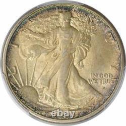 1916-S Walking Liberty Silver Half Dollar MS63 PCGS