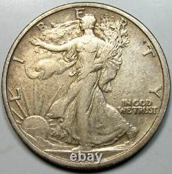 1916 Walking Liberty Half Dollar