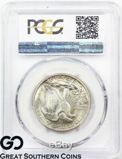 1916 Walking Liberty Half Dollar PCGS MS 66 Swirling Luster, Tough This Nice