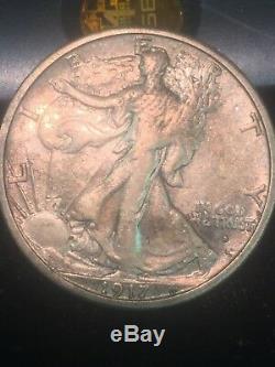 1917 s Obverse Walking Liberty Half Dollar