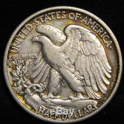 1919 Walking Liberty Half With Vf Details