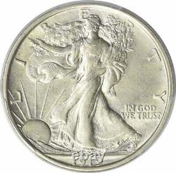 1919 Walking Liberty Silver Half Dollar AU55 PCGS (CAC)