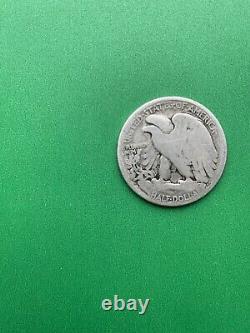 1921-D Walking Liberty Half Dollar, Key Date