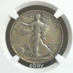 1921-P US Walking Liberty Half Dollar NGC XF 40 VERY NICE COIN