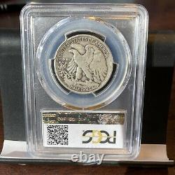 1921-S Liberty Walking Silver Half Dollar PCGS 12 PLUS CAC NEAT COIN TAKE A LOOK