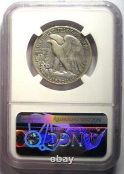 1921-S Walking Liberty Half Dollar 50C Certified NGC VF Details Rare Date
