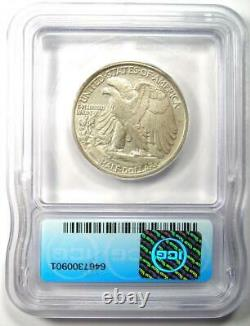 1921-S Walking Liberty Half Dollar 50C Coin Certified ICG AU50 Rare Date