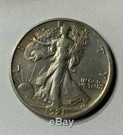 1921-S Walking Liberty Half Dollar High Grade