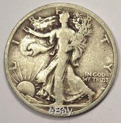 1921 Walking Liberty Half Dollar 50C 1921-P Fine Detail Rare Date Coin