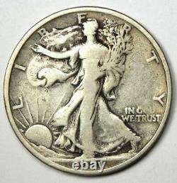 1921 Walking Liberty Half Dollar 50C (1921-P) Fine Details Rare Date Coin