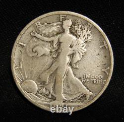 1921s Walking Liberty Half Semi Key With Fine Details