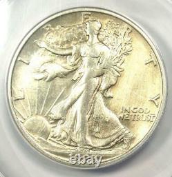 1923-S Walking Liberty Half Dollar 50C ANACS AU50 Details Rare Date