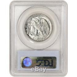 1927-S US Walking Liberty Silver Half Dollar 50C PCGS MS63