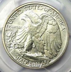 1927-S Walking Liberty Half Dollar 50C PCGS AU Details Rare Date Coin