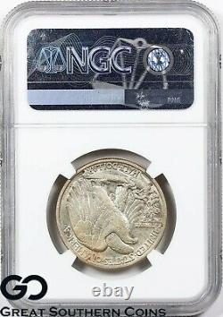1927-S Walking Liberty Half Dollar NGC AU 53 Scarce Better Date