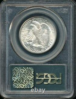 1927-S Walking Liberty Half Dollar PCGS MS 64 Older Green Label Holder! Scarce