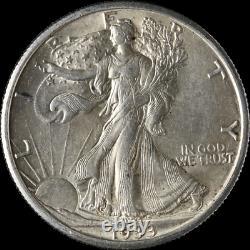 1933-S Walking Liberty Half AU/BU Details Nice Eye Appeal Nice Luster