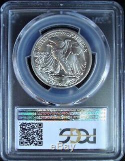 1936-S Walking Liberty Silver Half Dollar PCGS MS 65
