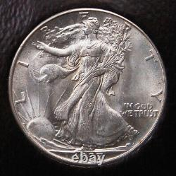 1937 D Walking Liberty Half Dollar Icg Ms 64 Pq For The Grade And Looks Gem