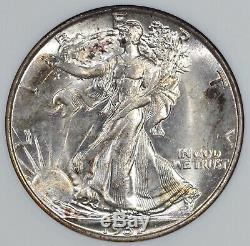 1937 Walking Liberty Half Dollar MS-64 ANACS Vintage 1st Gen ANA holder