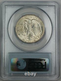 1937 Walking Liberty Silver Half Dollar, PCGS MS-64, High End Coin