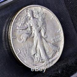 1938-D Liberty Walking Half Dollar Ch XF (#22955)
