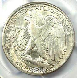 1938-D Walking Liberty Half Dollar 50C Certified PCGS AU53 Rare Date Coin