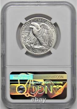1938 D Walking Liberty Half Dollar 50c Ngc Au 55