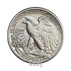 1938 D Walking Liberty Half Dollar Choice BU / MS / UNC