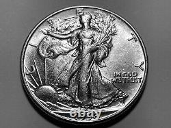 1938-D Walking Liberty Half Dollar High Grade Mint State