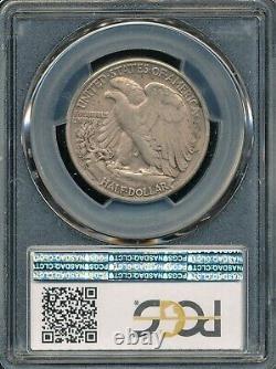 1938-D Walking Liberty Half Dollar PCGS XF 40 Low Mintage Semi-Key Date