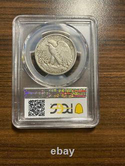 1938-D Walking Liberty Silver Half Dollar 50C PCGS XF 40 Walker