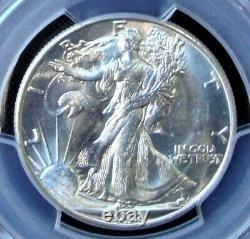 1938-D Walking Liberty Silver Half Dollar PCGS MS 63