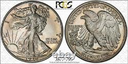 1938-P Walking Liberty Silver Half Dollar 50C PCGS Proof PR 67 CAC Walker RARE