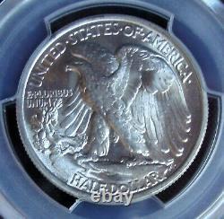 1938 Walking Liberty Silver Half Dollar PCGS MS 66