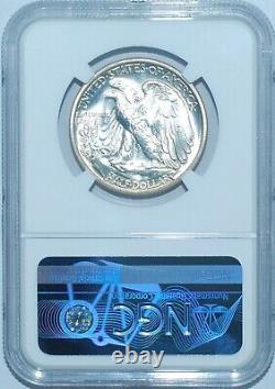 1939 D NGC MS66 CAC Walking Liberty Half Dollar